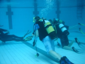 Padi Discover Scuba Diving Gloucestershire Scouts